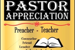 KICC Pastors' Appreciaion